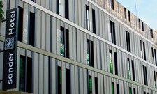 Öffnet bald seine Türen: Das neue und erste Hotel der Sander-Unternehmengruppe in Koblenz