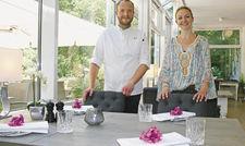 Machen ihr Ding: (von links) Küchenchef Markus Kajtezovic und Friederike Schnitger.