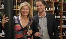 Virginie Taittinger und ihr Sohn Ferdinand Pougatch