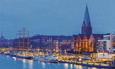 Maritimes Flair: Der Hafen von Bremen spielt eine wichtige Rolle im Tourismusmarketing.