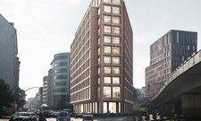 So soll das NH Hamburg Zentrum aussehen: Der Entwurf des Architekturbüro Winking Froh Architekten