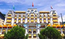 Gehört jetzt zur Autograph Collection von Marriott: Das 4-Sterne-superior-Haus Grand Hotel Suisse Majestic in Montreux