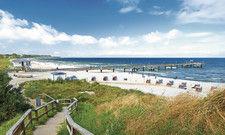 Blauer Himmel und Strand: Bei der Hitzewelle in diesem Sommer war so mancher Urlauber für eine frische Brise dankbar
