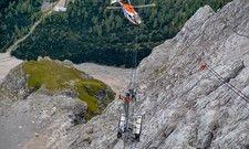 Die Bergung läuft: Die Seilbahn bleibt auf unbestimmte Zeit außer Betrieb.