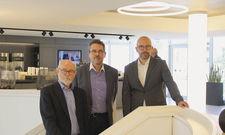Stolz auf das Haus: (von links) Reinhold Garthe, Andreas Janken und Christian Tuckert.