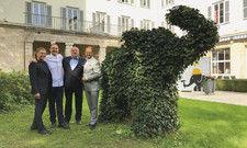 Das Elephant-Team: (von links) Hendrik Canis, Johannes Wallner, Andreas Kartschoke und Alexander Winter. Mehr Fotos auf AHGZ.de.