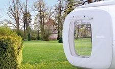 Neue Perspektive: Ein Schlafwürfel im Park des Dormero Schlosshotel Reichenschwand