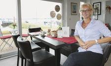 Tüchtige Gastronomin: Ulrike Frank setzt auf eine Klientel, die Abstand vom Alltag sucht.