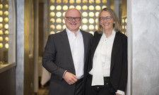 Treten kürzer: Bernd und Barbara Glauben
