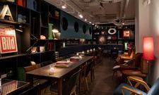 Die Bar: Künstler und Locals sollen sich hier mit Hotelgästen mischen