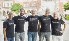 Bidroom's derzeitige Vorstandsmitglieder: (von links) Francesco Monaco, Michael Ros, John Stoffers, Bas Tolmeijer, Casper Knieriem