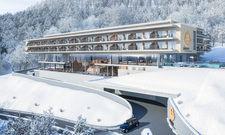 Soll voraussichtlich Ende 2020 starten: Das Arborea Montafon Resort St. Gallenkirch (Rendering)