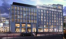 So soll's aussehen: Ein Rendering des geplanten Me and All Hotels in Ulm
