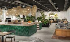 So soll's aussehen: Der Frühstücksbereich des geplanten Ninetynine Hotels in München