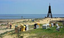 Perfektes Sommerwetter: Das lockte viele Touristen an die Küste