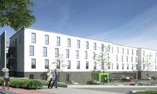 So soll's aussehen: Das künftige Holiday Inn Express in Sindelfingen (Rendering)