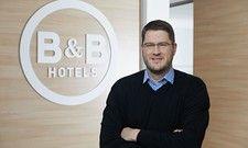 Hat neue Hotels im Visier: Max C. Luscher, Geschäftsführer der B&B Hotels GmbH