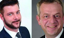 Übernehmen neue Aufgaben: (von links) Andreas Kriener ist für das Welcome Hotel Frankfurt zuständig. Ralf Adamczyk leitet das Welcome Hotel Bad Arolsen