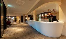 Hereinspaziert: Der Eingangsbereich des City Resort A-Ja Zürich
