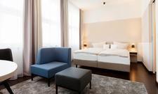 Wohnlich: Zimmer im Arcona Living Bremen