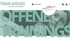Jetzt online: Das Portal Train Ahead der DHA bietet offene Trainings in fünf Schwerpunkten