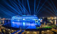 Strahlender Sieger: Die Aida Prima belegt im Travelcircus-Ranking Platz 1