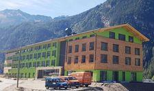 Endspurt: Ende November soll das neue Explorer Hotel im österreichischen Ötztal fertig sein