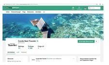 Neue Partner: Tripadvisor kooperiert unter anderem mit Condé Nast Traveler