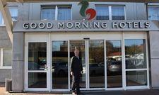 Hereinspaziert: Das Hotel Good Morning+ Berlin City East, hier Country Manager Hans Bogner, ist seit Oktober das erste Haus der Ligula Hospitality Group in Deutschland