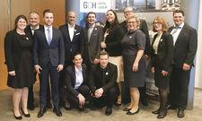 Fit für Führungsaufgaben: Die Absolventen der diesjährigen GCH Leadership Academy.