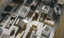 Bereits geplant: Modelle von künftigen Airbnb-Häusern