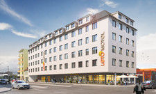 Im Bau: Das Letomotel in Nürnberg soll Ende 2019 öffnen