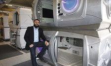 Immobilienprofi: Taimuraz Chanansvi rechnet damit, dass die Kapselunterkünfte gut gebucht werden.