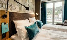 Erfolgsmarke: Motel One, mit seinem typischen türkisen Design, ist weiterhin auf Expansionskurs