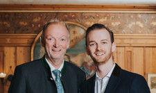 Gastgeber: Gerhard und Michel Lidl sind Eigentümer des Hotels Drei Quellen