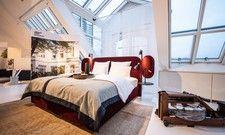 So soll's aussehen: Ein Musterzimmer für das Stilwerk Hotel Heimhude