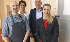 Das Führungsteam (von links): Sascha Engelmann, Michael Bolte, Jörg Laser und Meike Lootz.