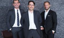 Die Managing Partner: (von links) Jörg Frehse, Ralf Selke und Michael Wagner