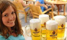 Gut gezapft: Das Fassbier-Geschäft von Veltins ist 2018 gewachsen