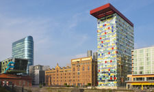 Erfindet sich neu: Die Marke Innside by Meliá, hier das Hotel Düsseldorf Hafen