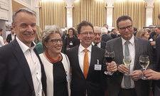 Einig: Markus Hofherr (links) vom DEHOGA Stuttgart und Minister Peter Hauk.
