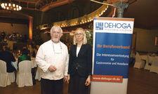 Führt das Tivoli seit mehr als 40 Jahren: Peter Bartsch mit seiner Frau Danuta.