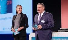 Eingespieltes Duo: Sky-Moderatorin Esther Sedlaczek und AHGZ-Chefredakteur Rolf Westermann