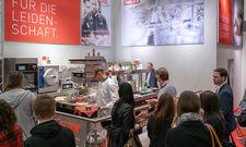 Kochen auf der Messe: Die Herdanlage Palux Maitre wird auch in Hamburg zu sehen sein