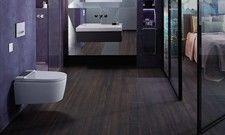 Designorientiert: Das Geberit Aqua Clean Sela soll sich mit seiner schlanken, eleganten Form in jedes Hotelbad einfügen