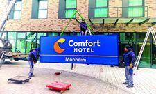 Mit neuem Logo: Das Comfort Hotel Monheim