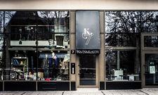 Unscheinbar: Der Eingangsbereich des Boutique-Hotels K7