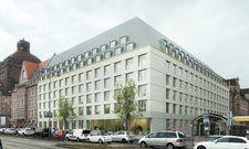 So soll's aussehen: Das geplante Hotel am Frauentorgraben