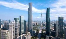 Eine Metropole: Die Skyline der chinesischen Hafenstadt Guanzhou