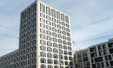 Imposant: Das erste deutsche Hotel der Marke Andaz in München-Schwabing.